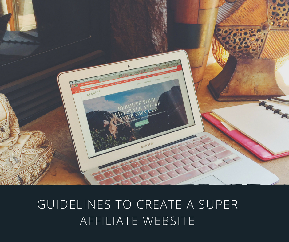 Creating A Super Affiliate Marketing Website…