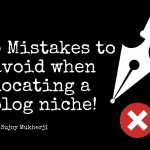 5 Mistakes to Avoid when Locating a Blog Niche