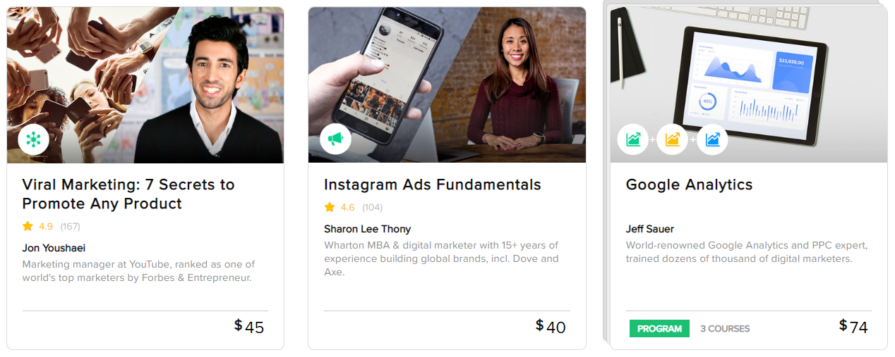 f5 - Learn from Fiverr: Certified Courses for Freelancers