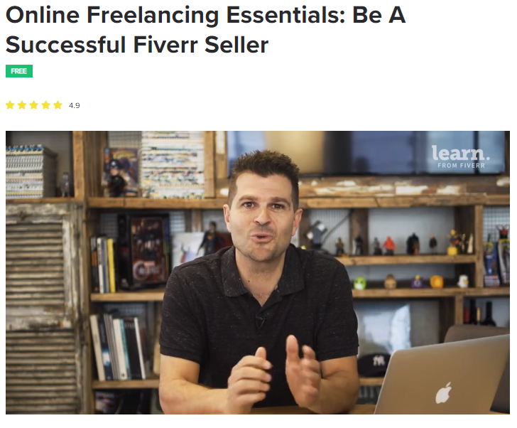 f6 - Learn from Fiverr: Certified Courses for Freelancers