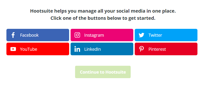 hootsuite - 5 Digital Marketing Tools for Small Business Growth in 2020