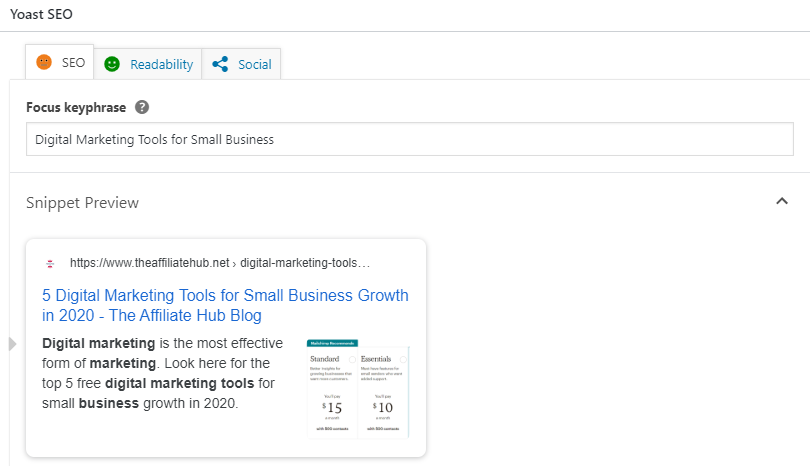 y1 - 5 Digital Marketing Tools for Small Business Growth in 2020