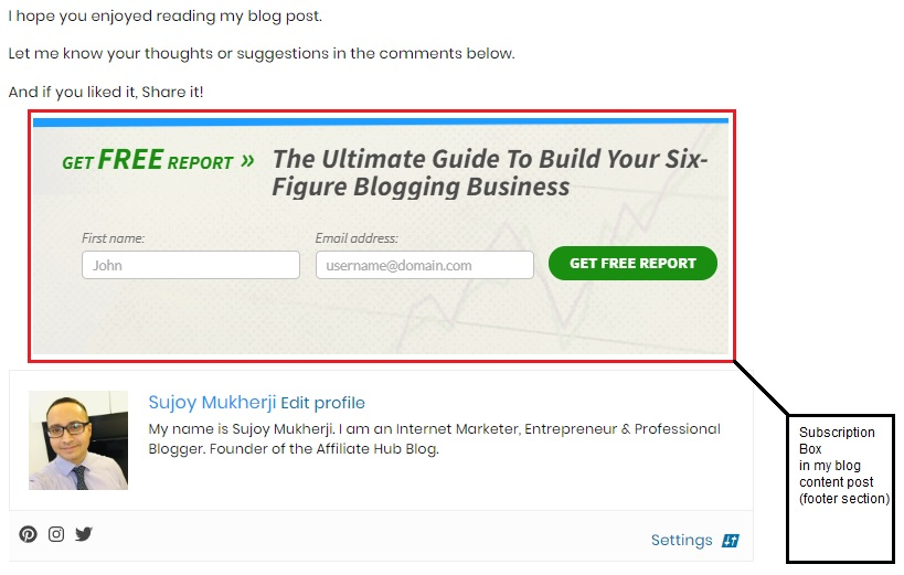 sub2 - Marketing as a New Affiliate: Turning Your Affiliate Membership into a Success